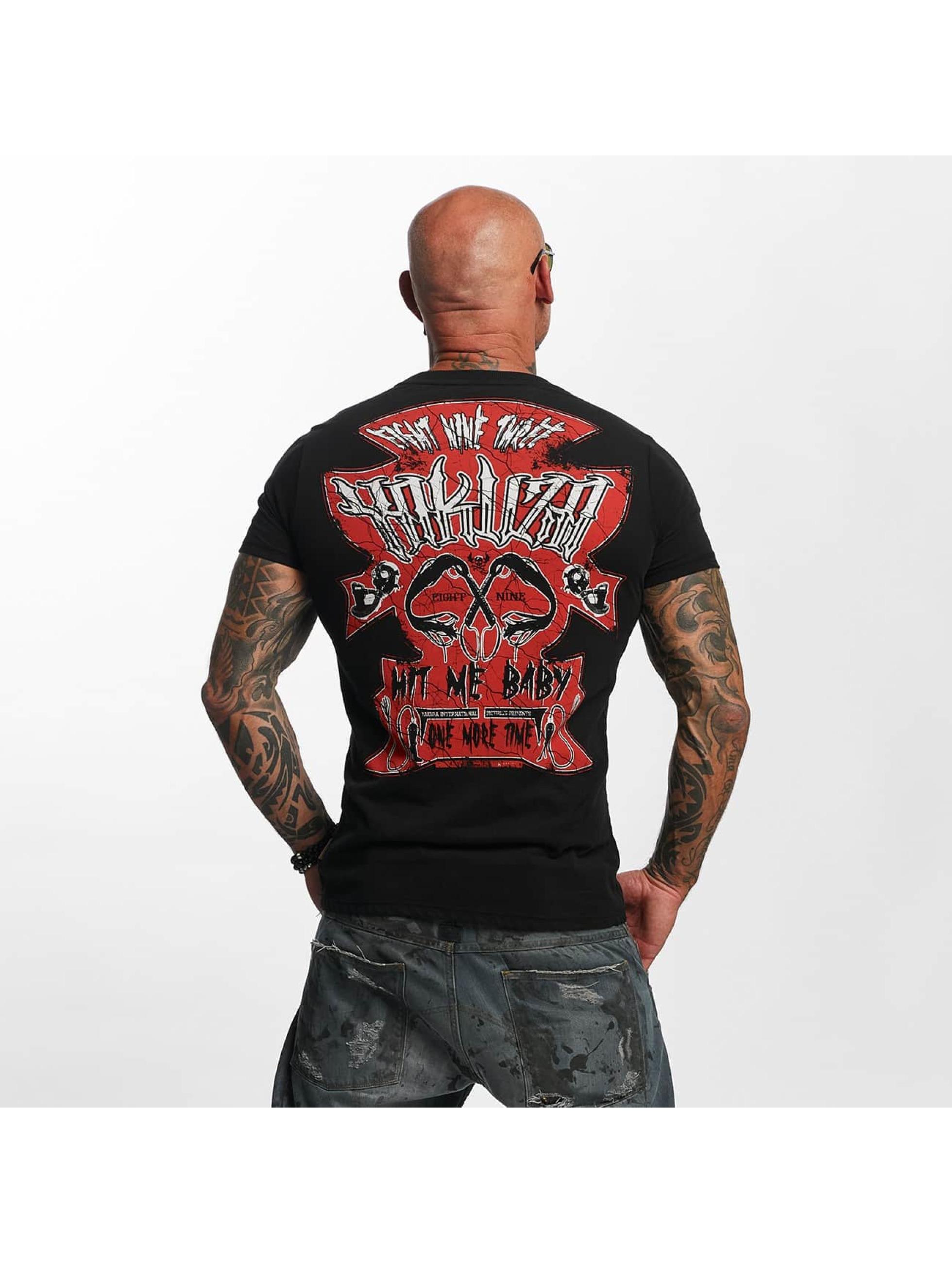 Yakuza T-Shirt Hit Me black