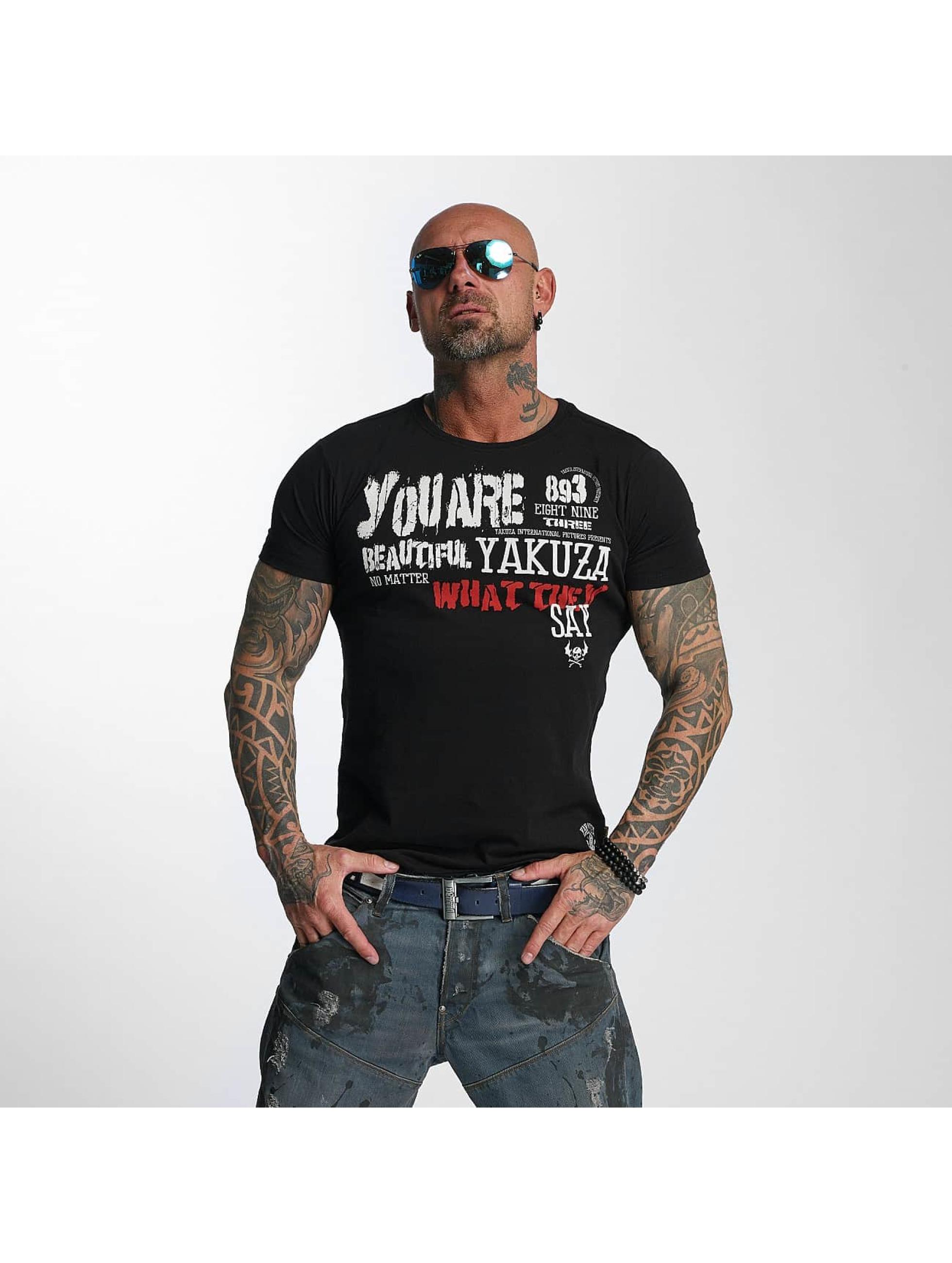 Yakuza T-Shirt U R Beautiful black