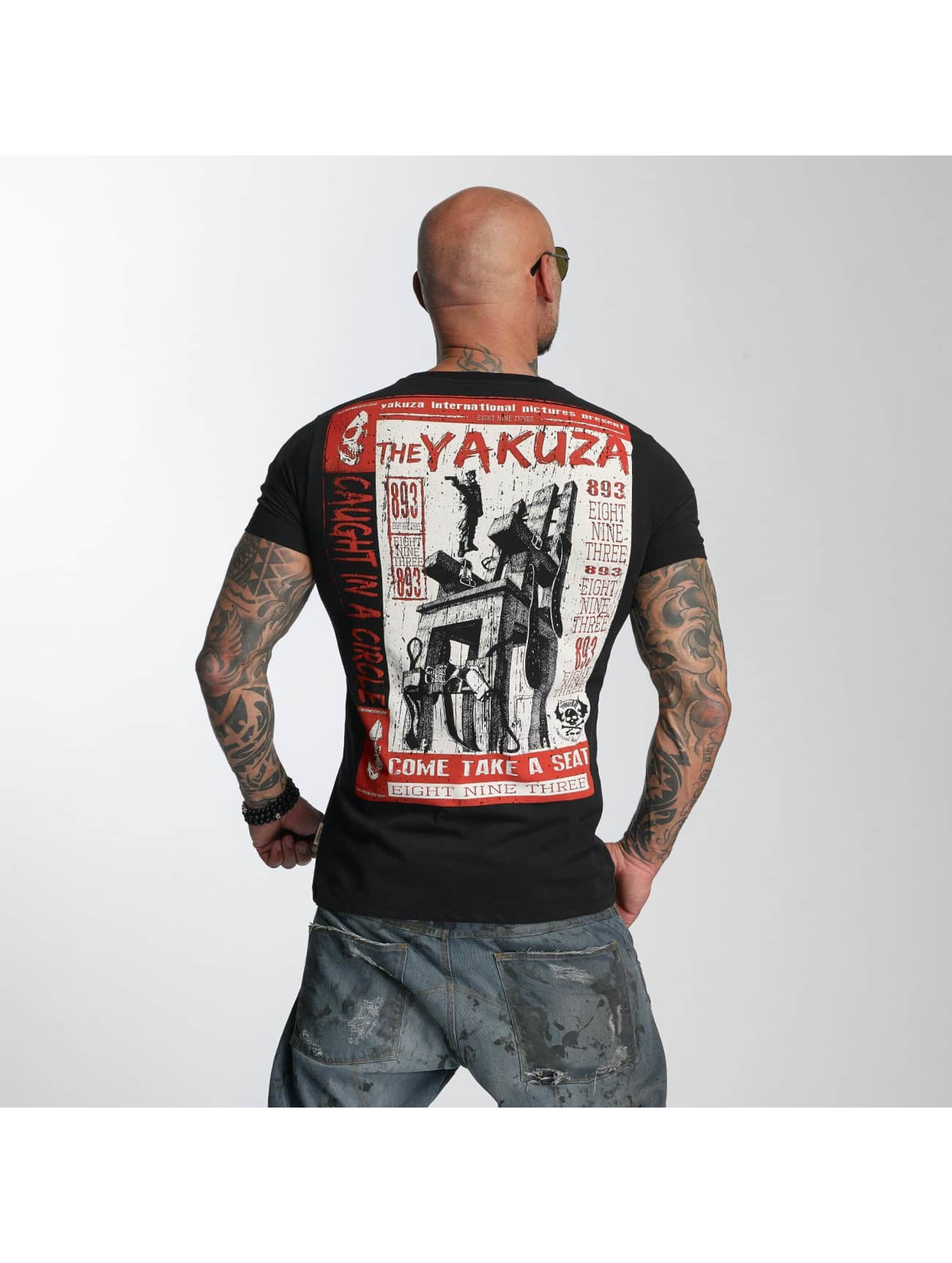 Yakuza T-Shirt Take A Seat black