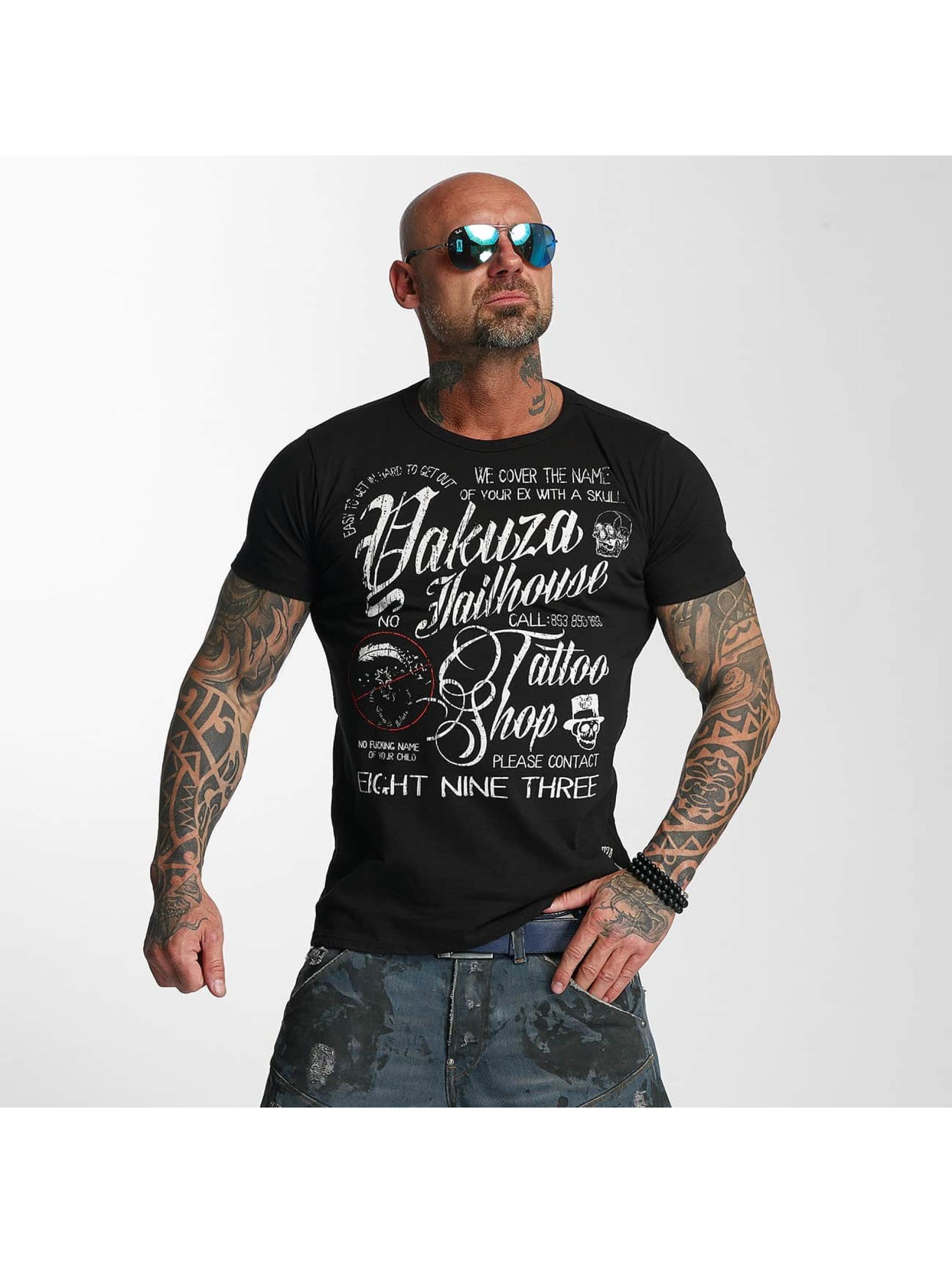 Yakuza T-Shirt Jailhouse black