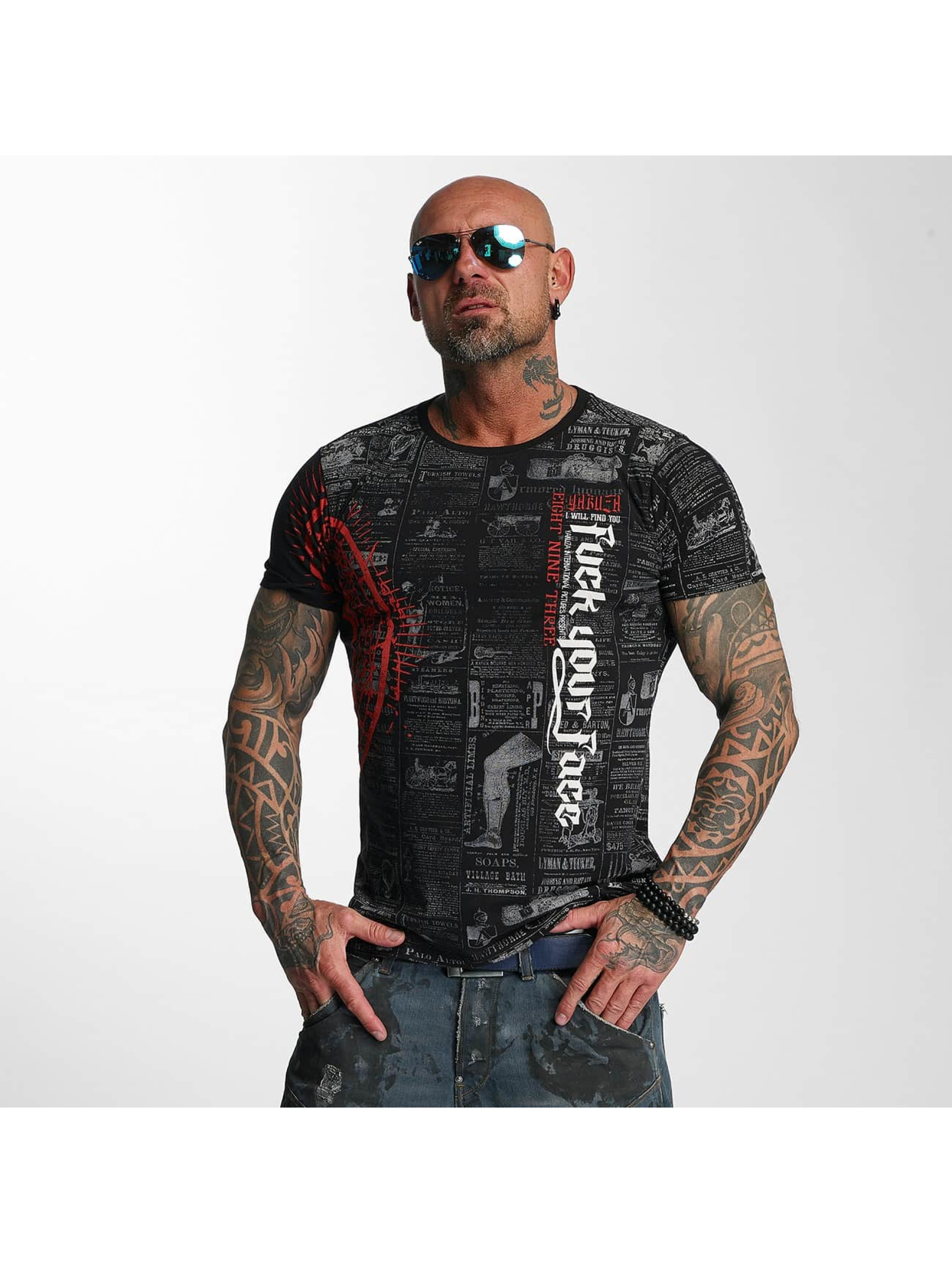 Yakuza T-Shirt F.Y.F. black