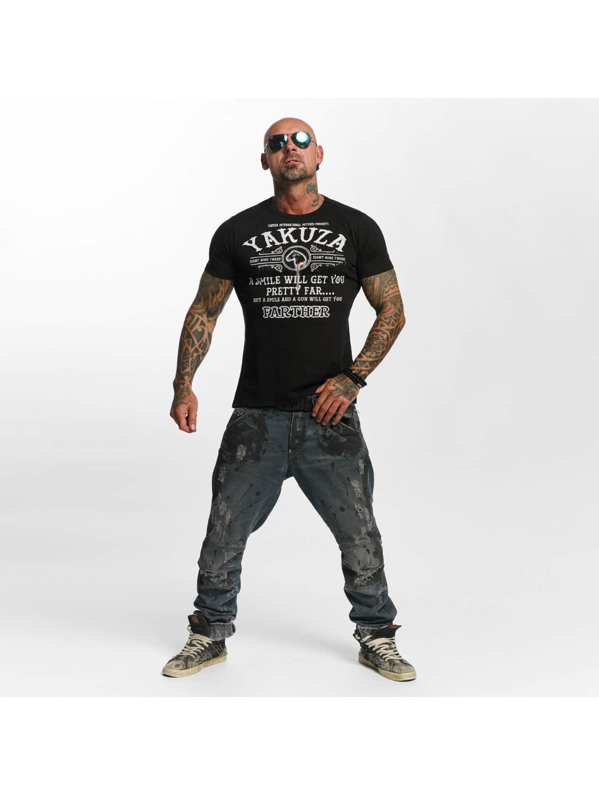 Yakuza T-Shirt Farther black