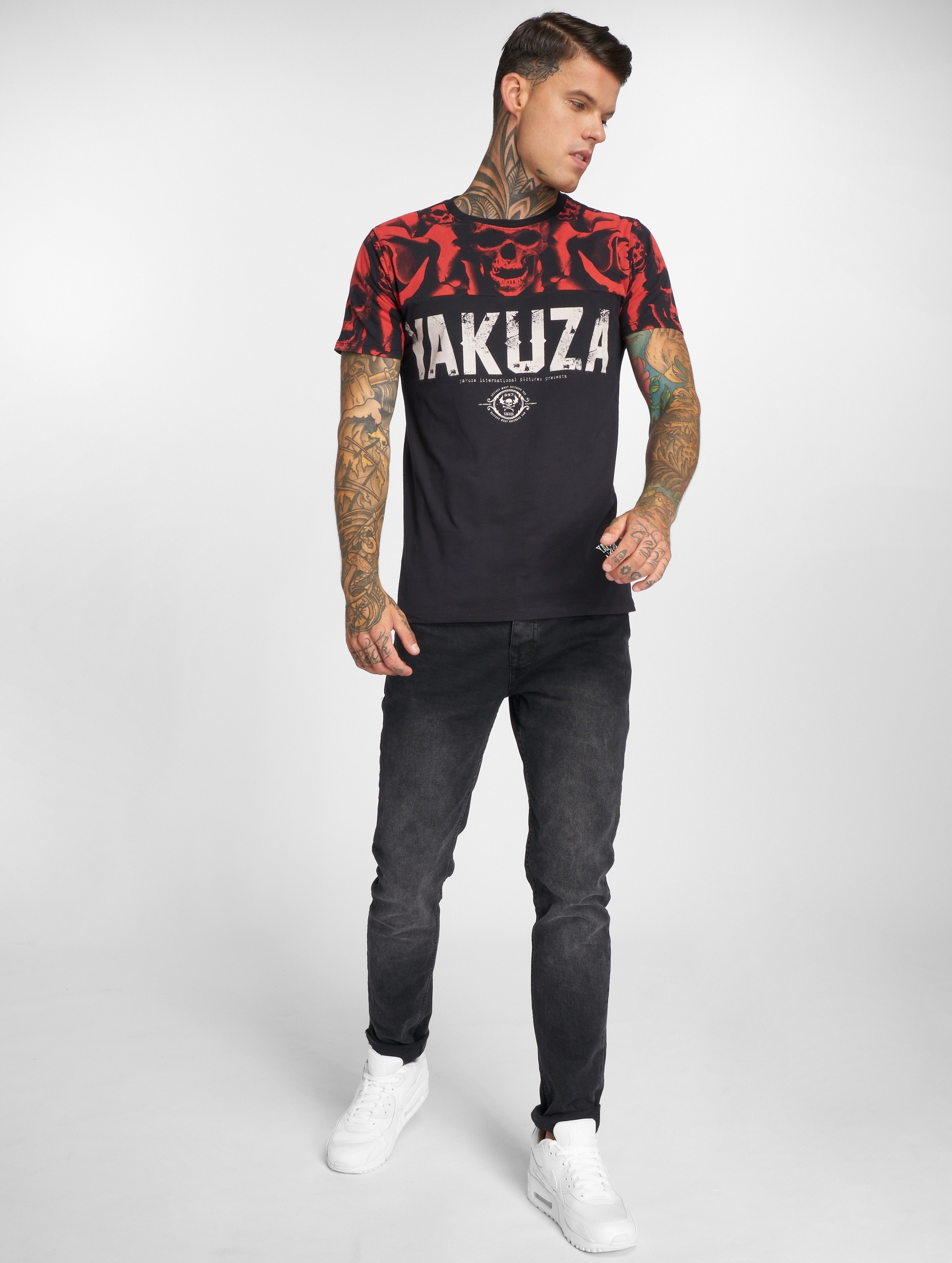 Yakuza T-Shirt SICK n FxCK black