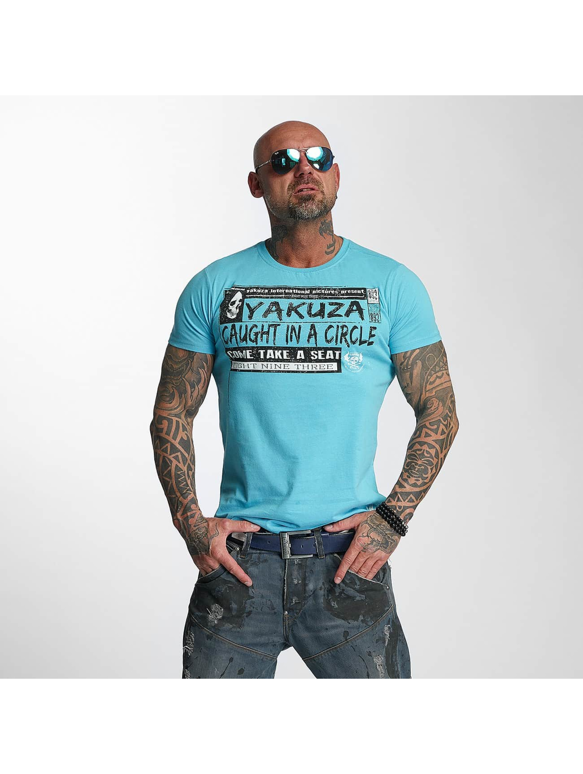 Yakuza T-Shirt Take A Seat blue