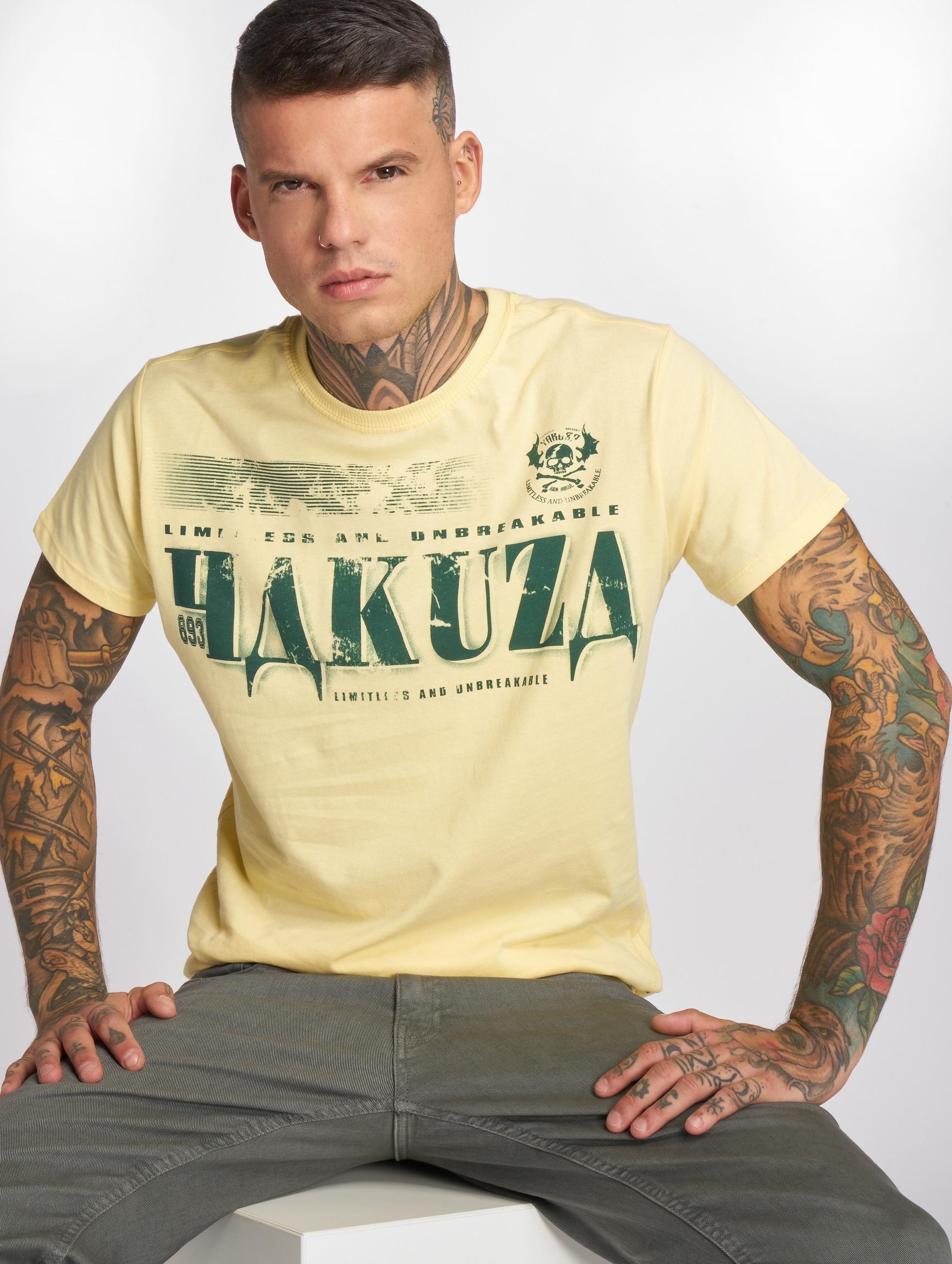 yakuza herren t shirt ok in gelb 141397. Black Bedroom Furniture Sets. Home Design Ideas