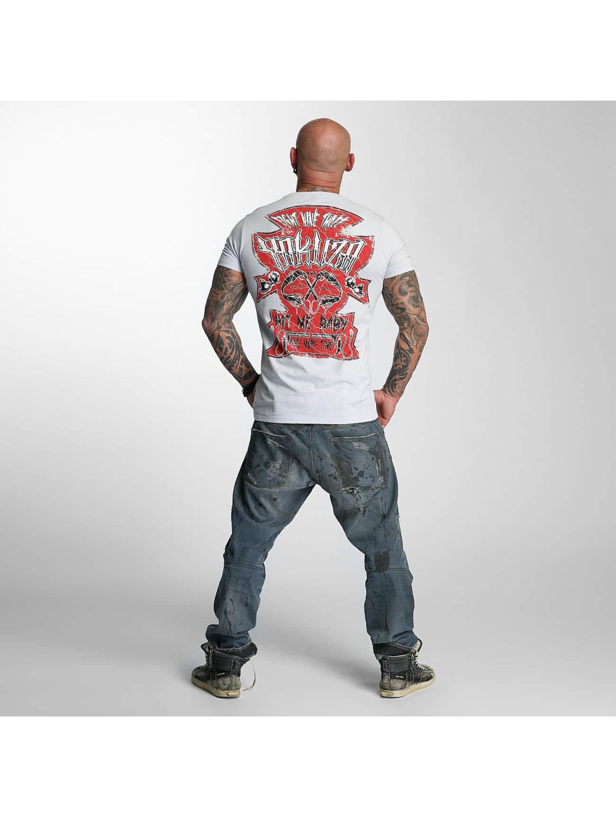 Yakuza T-Shirt Hit Me gray