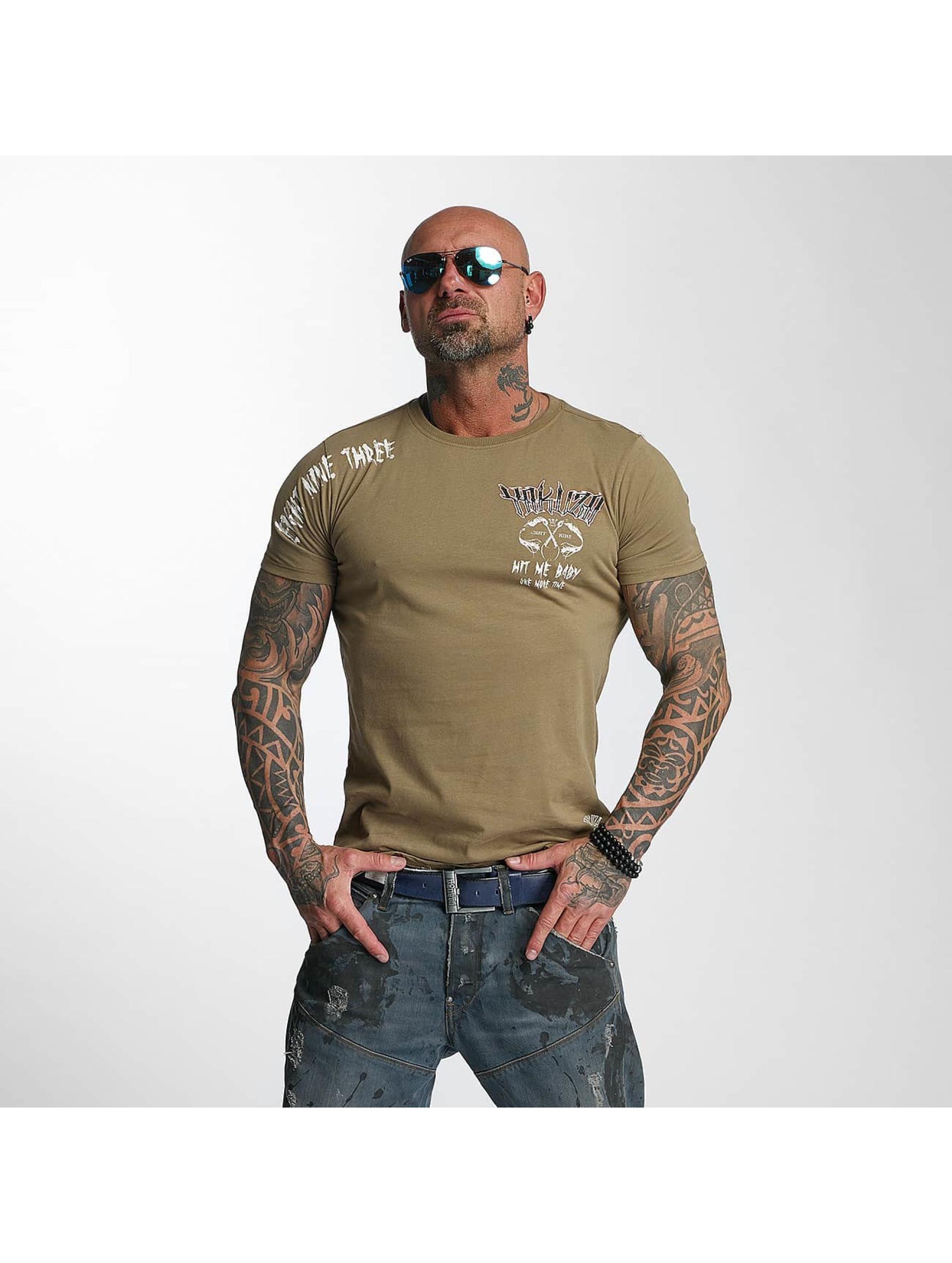 Yakuza T-Shirt Hit Me green