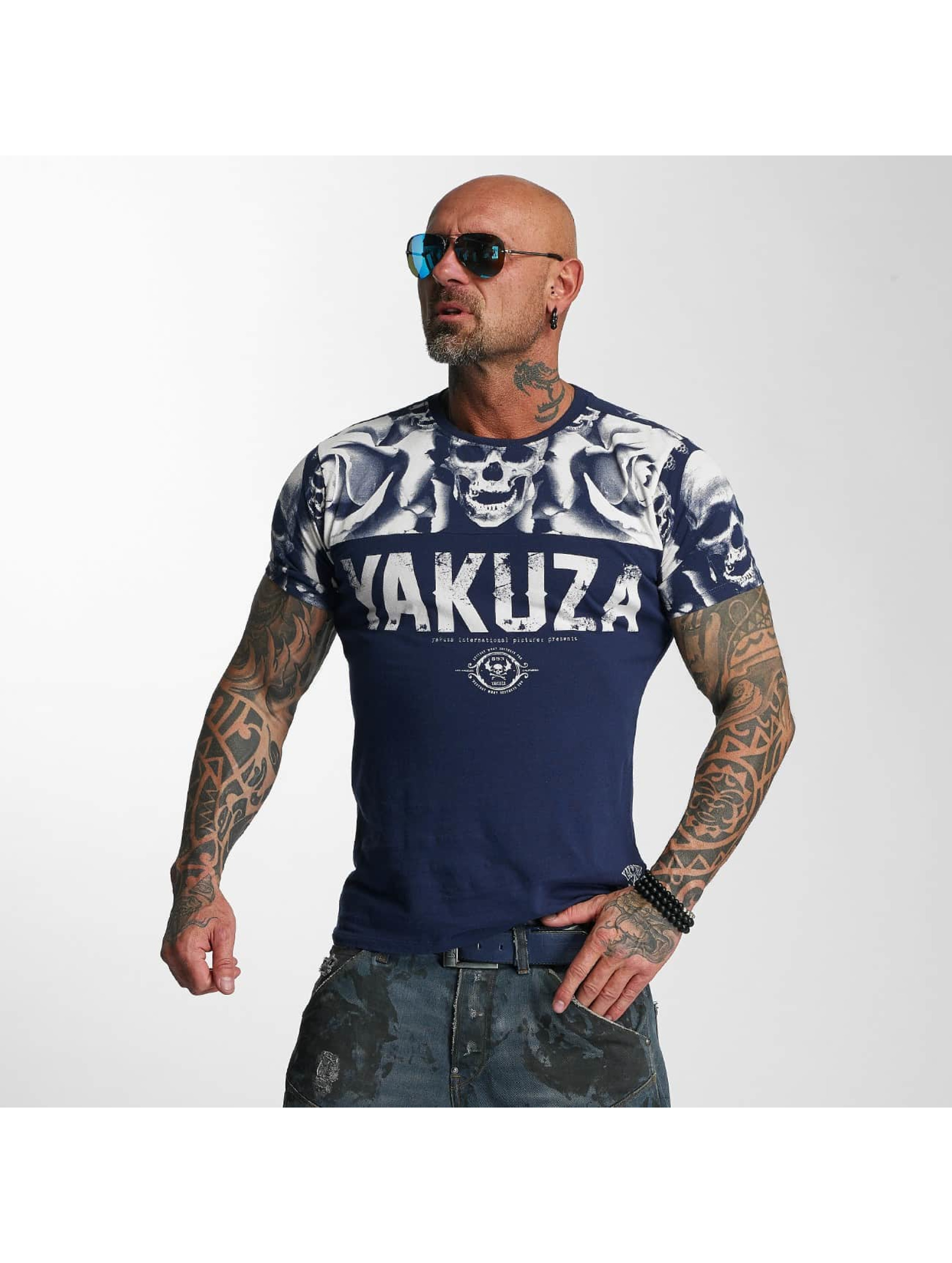 Yakuza T-Shirt SICK n FxCK indigo