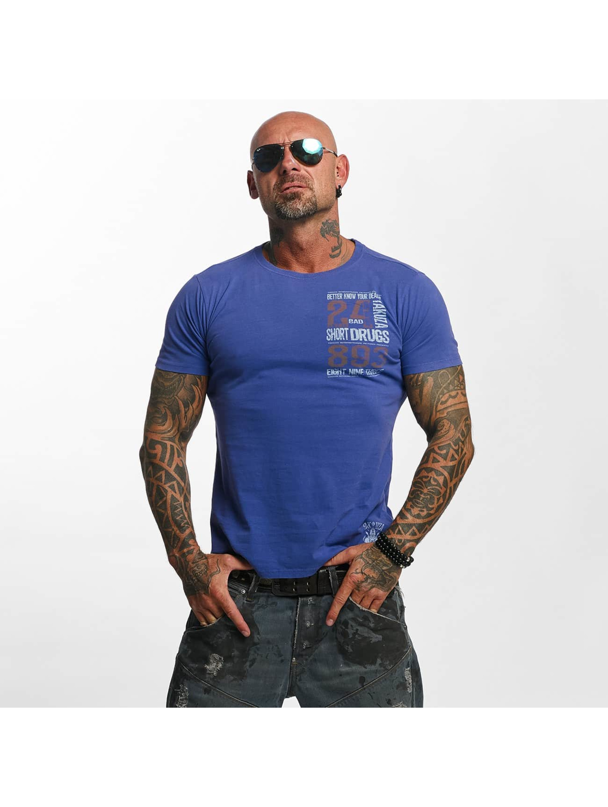 Yakuza T-Shirt Know Your Dealer purple