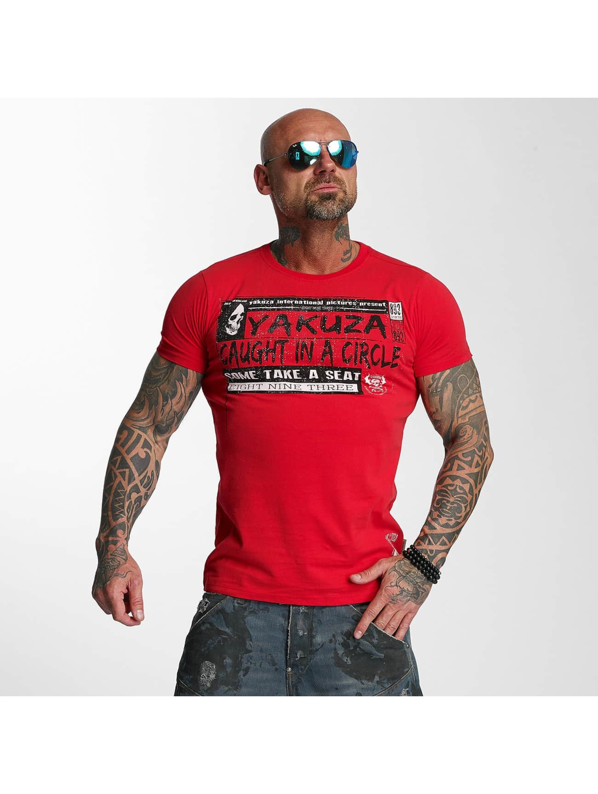 Yakuza T-Shirt Take A Seat red