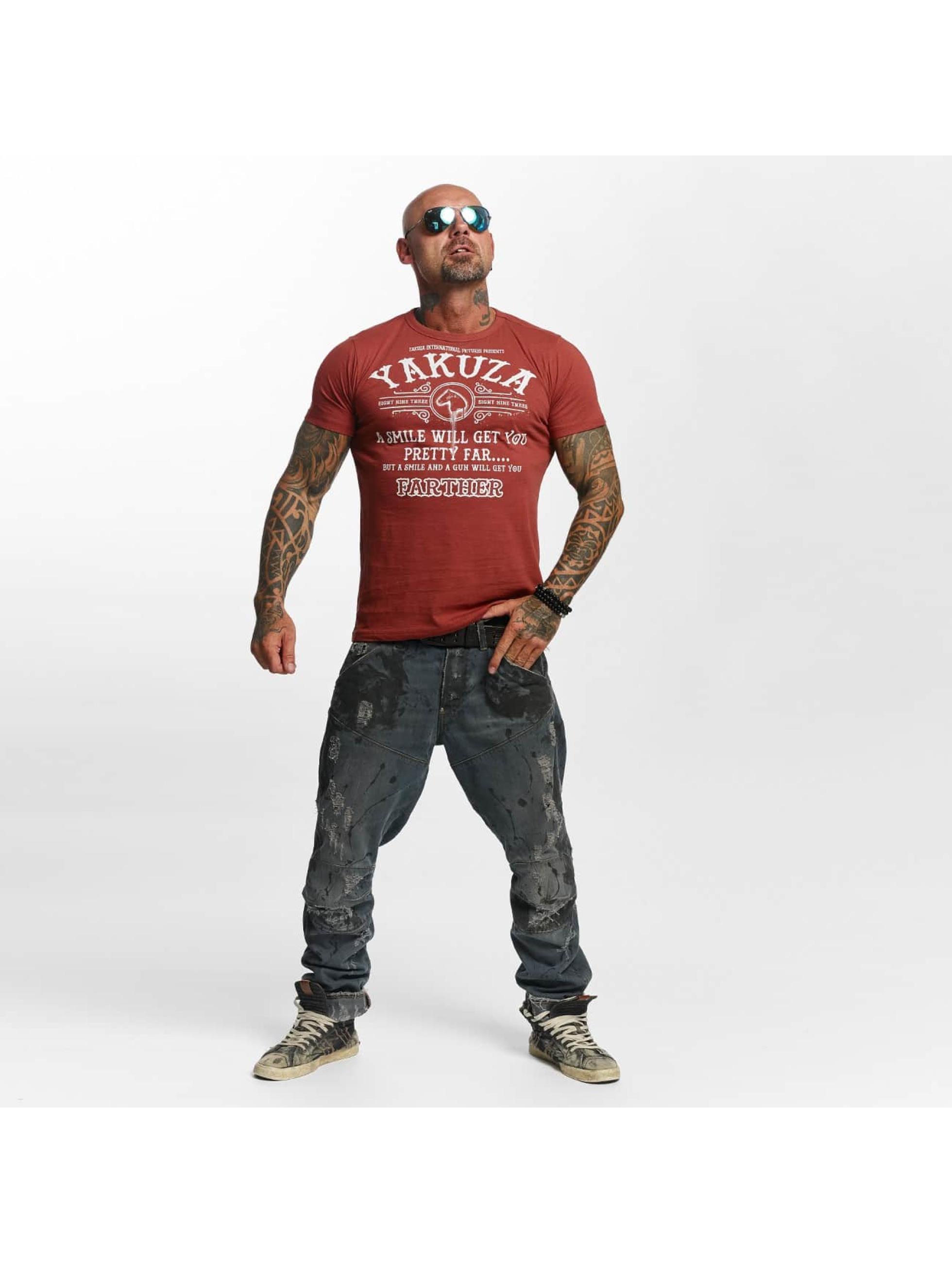 Yakuza T-Shirt Farther red