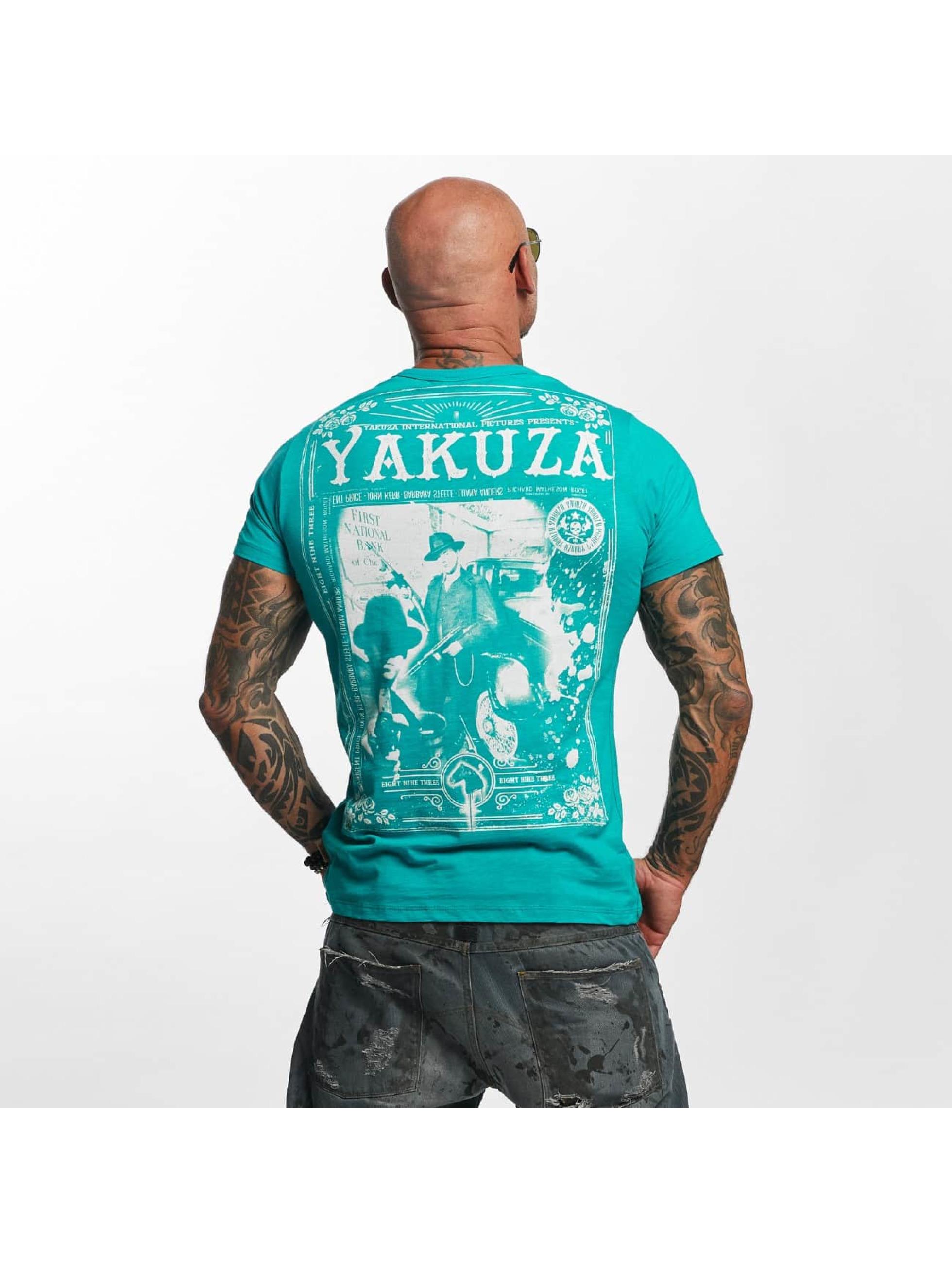 Yakuza T-Shirt Farther turquoise