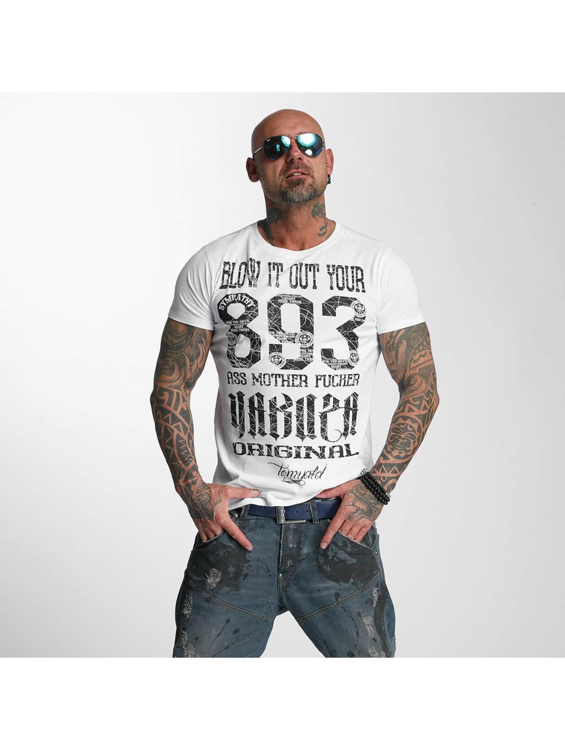 Yakuza T-Shirt Blow It Out white