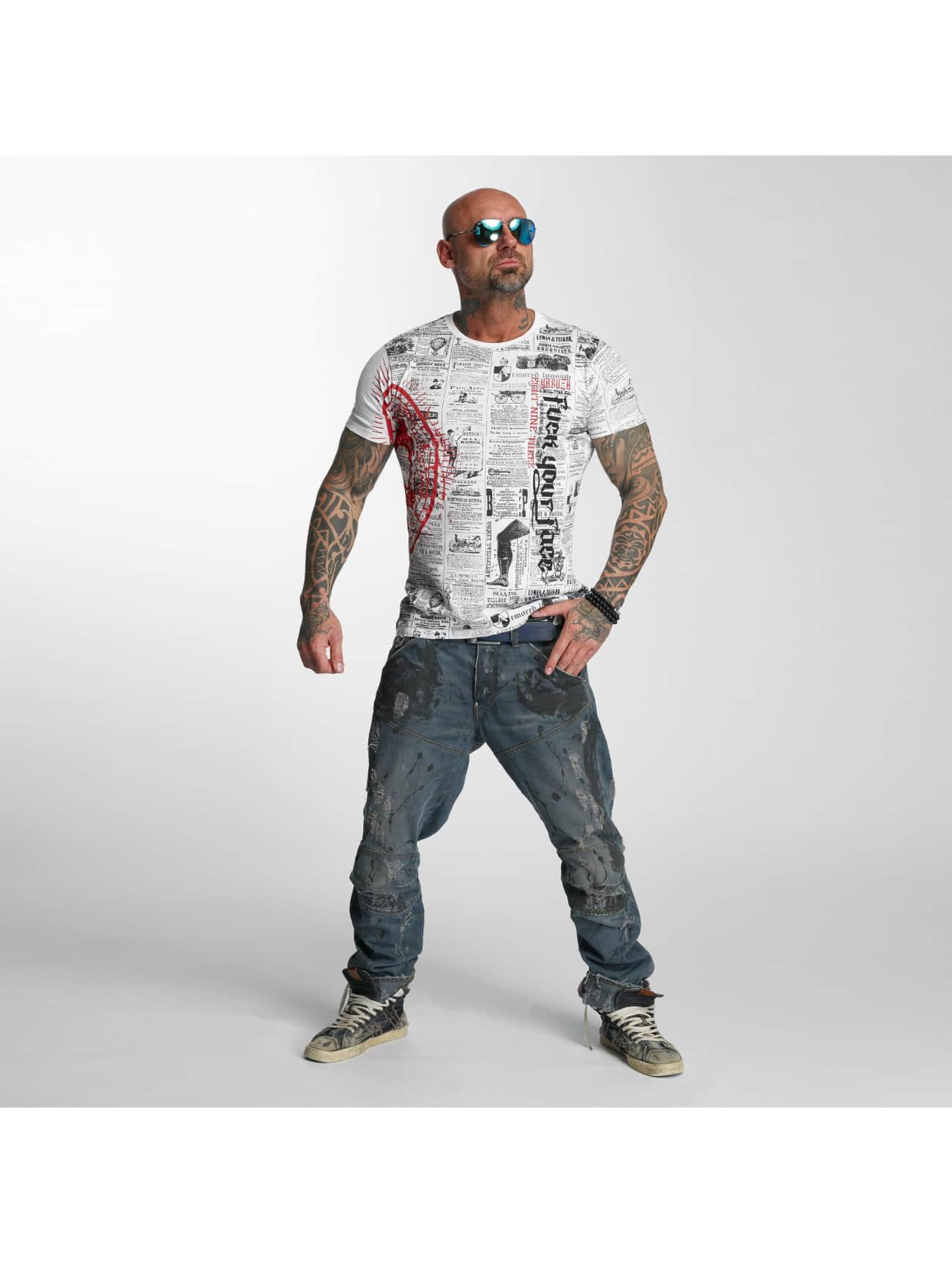 Yakuza T-Shirt F.Y.F. white