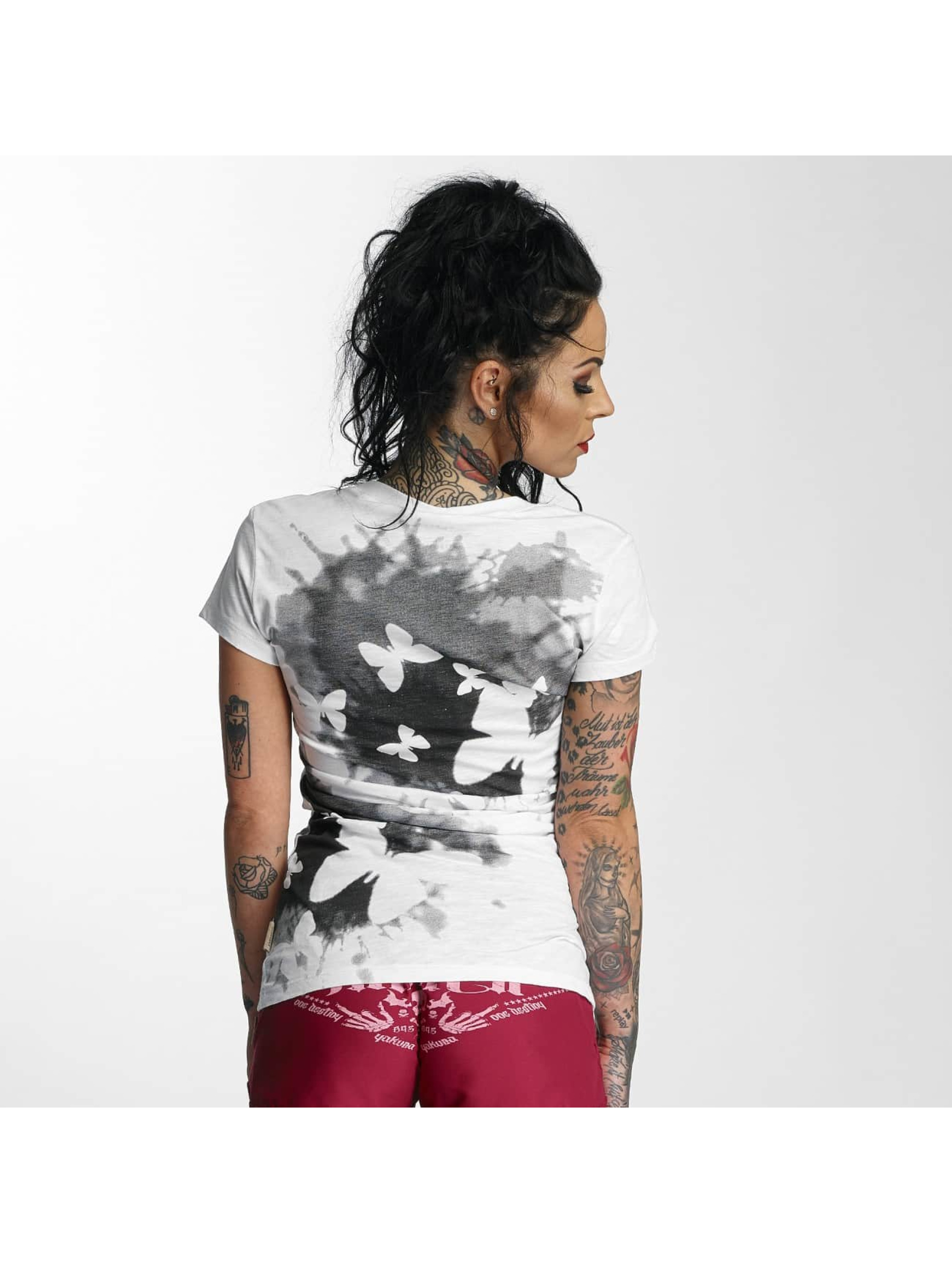 Yakuza T-Shirt Butterfly white
