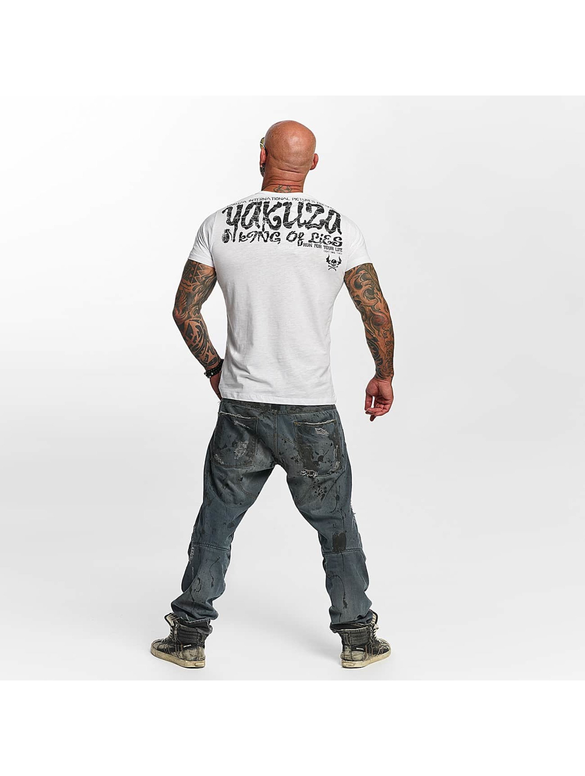 Yakuza T-Shirt King Of Lies white
