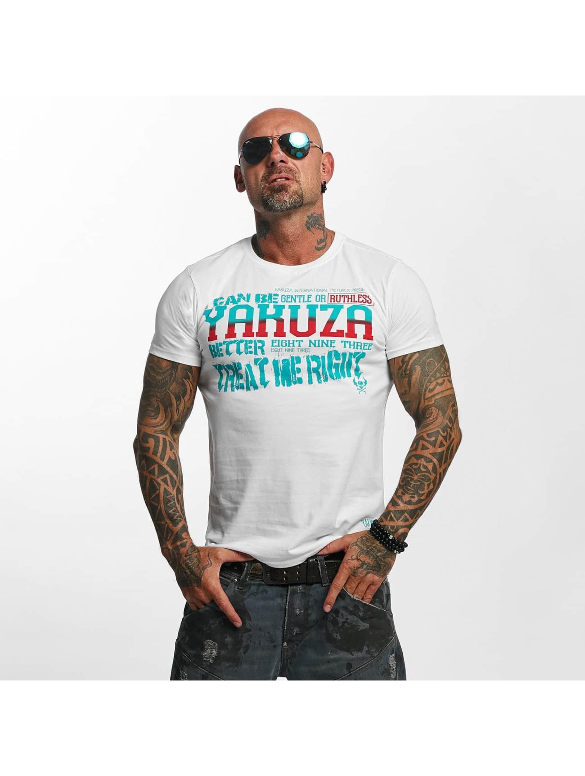 Yakuza T-Shirt Treat Me white
