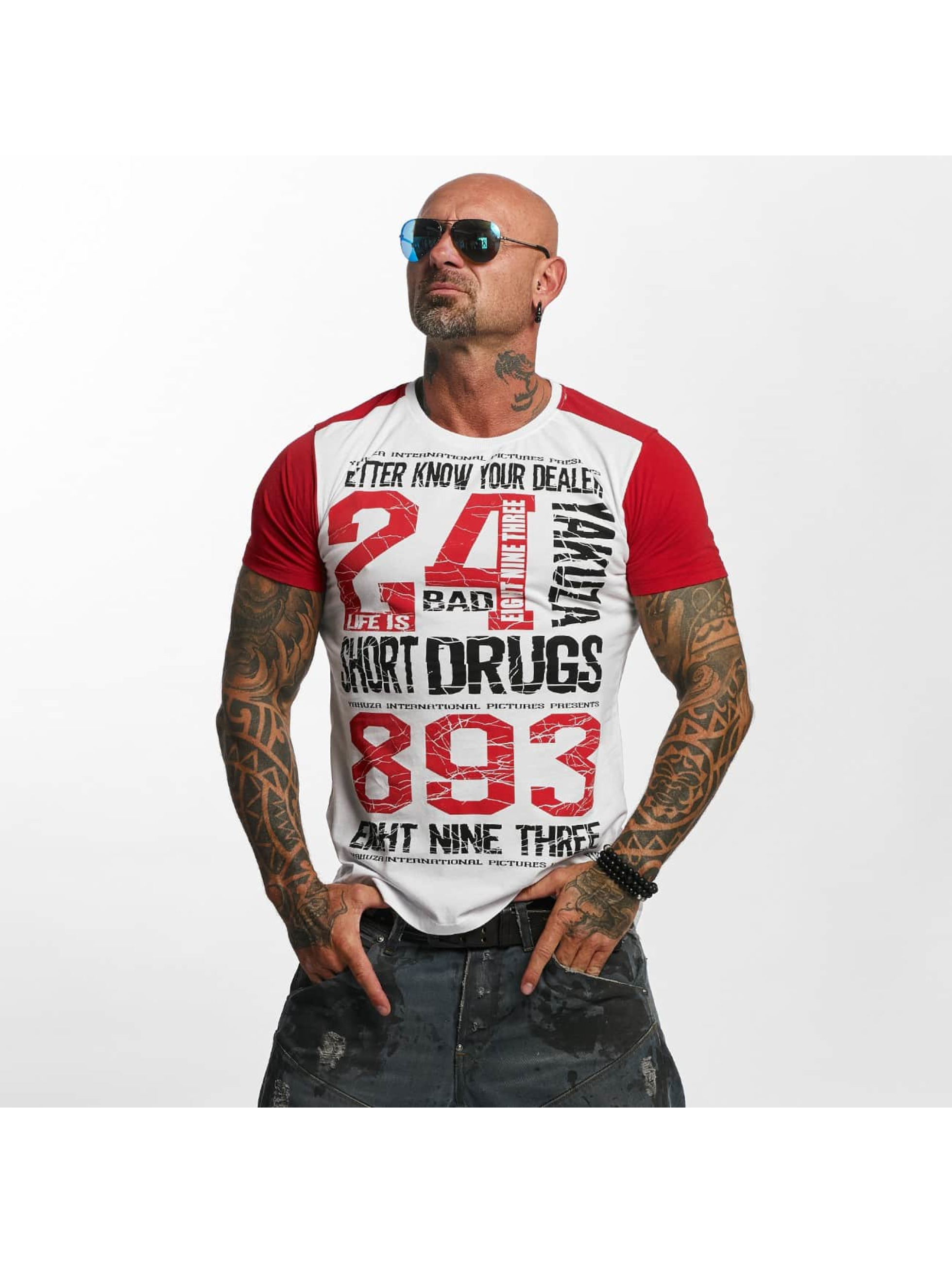 Yakuza T-Shirt Know Your Dealer II white