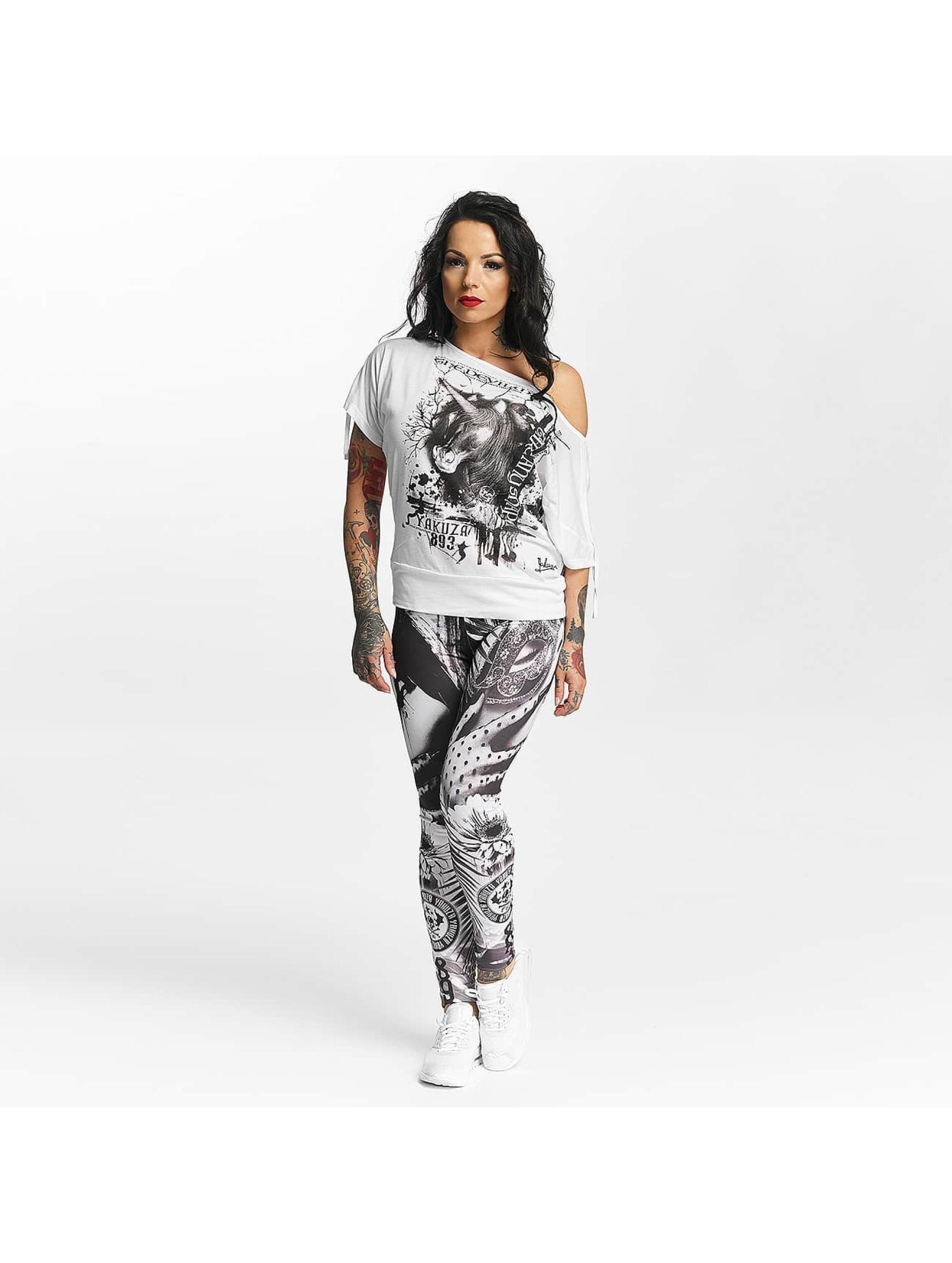 Yakuza T-Shirt Take Any Shape white