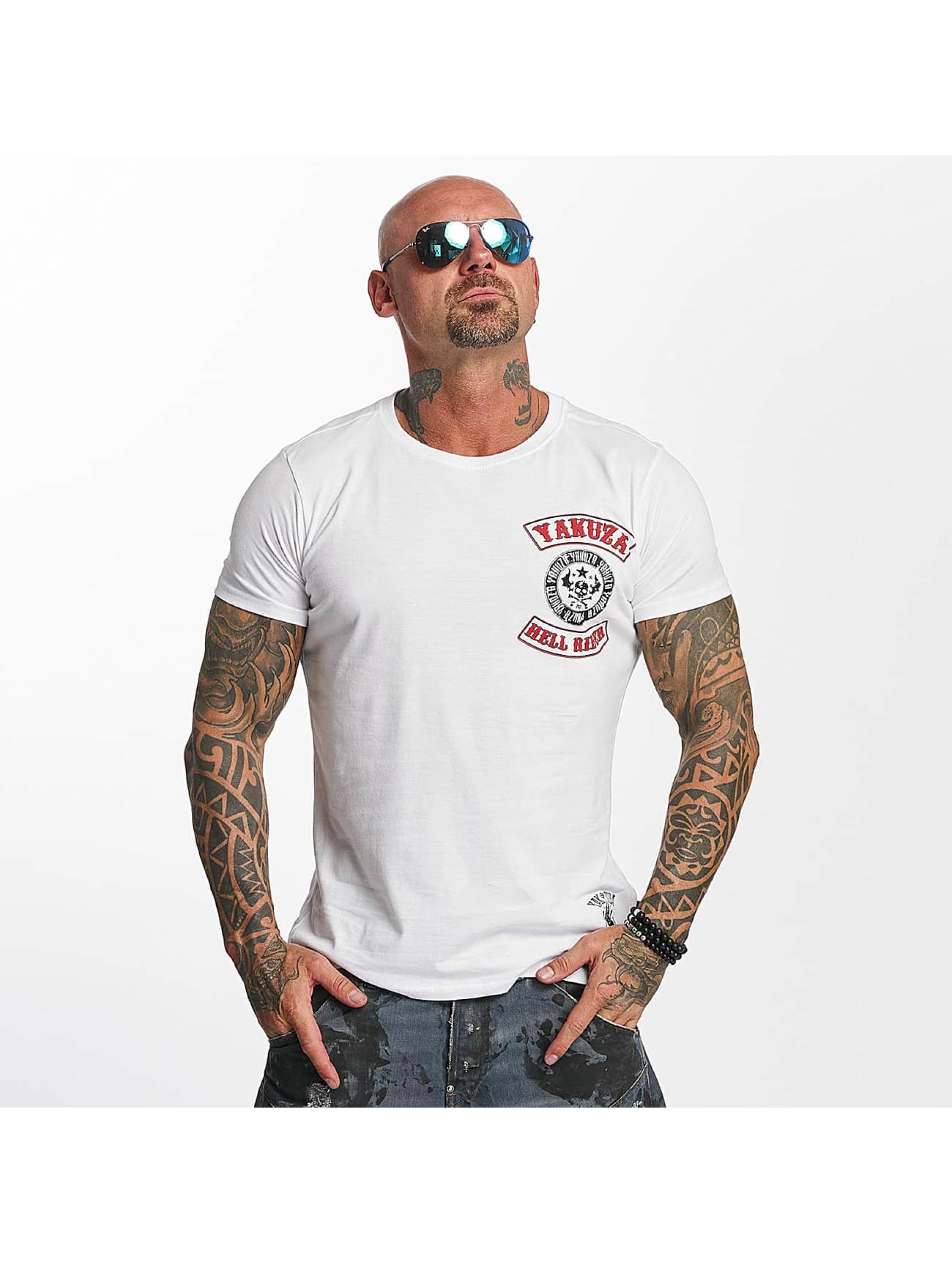 Yakuza T-Shirt Hell Rider white
