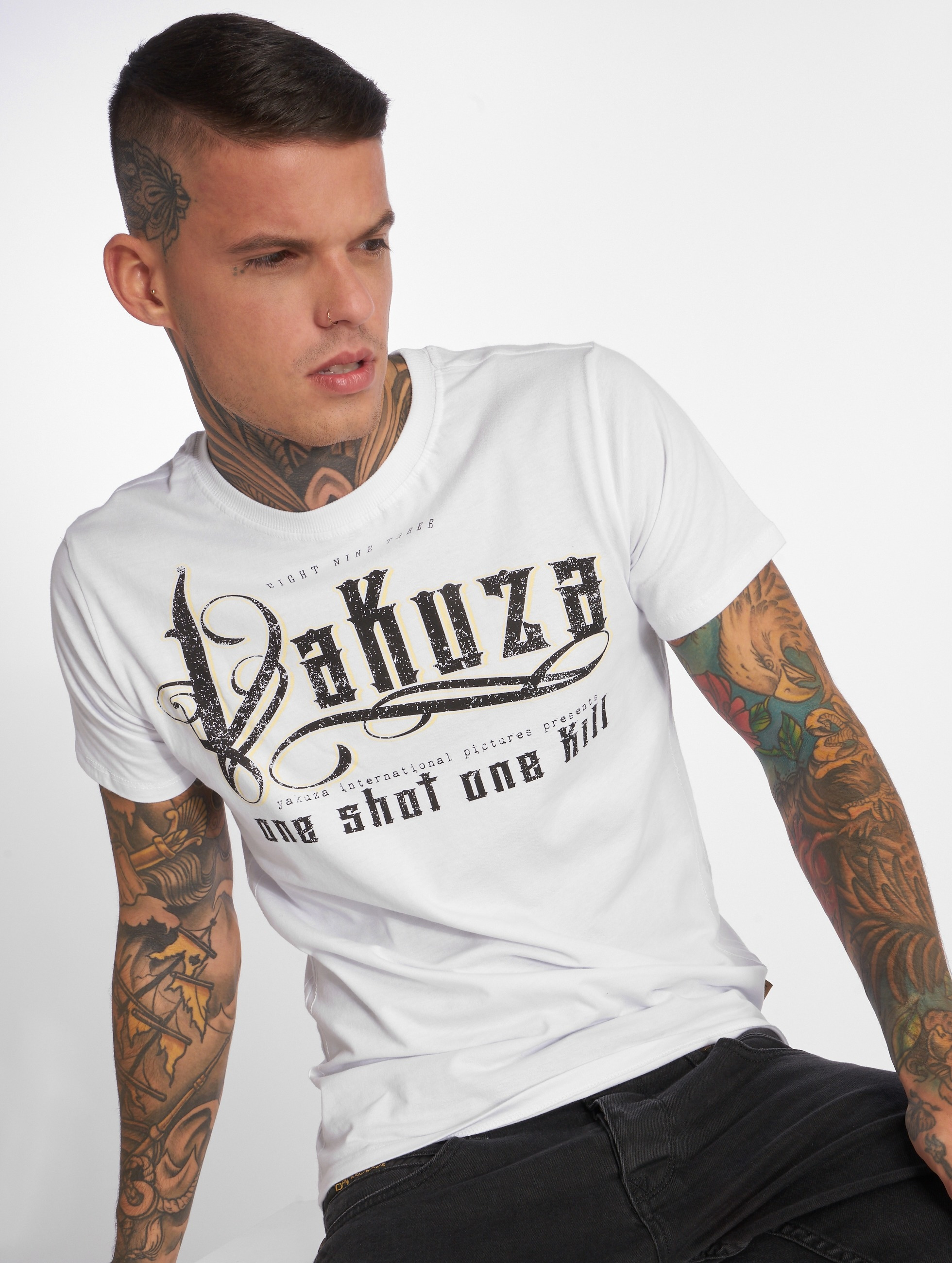 Yakuza T-Shirt One Shot white