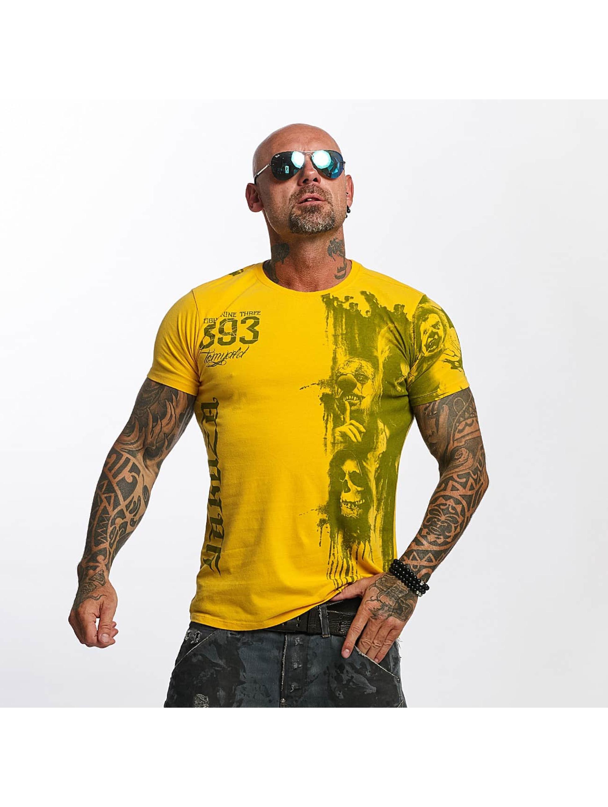 Yakuza T-Shirt Waiting Death yellow