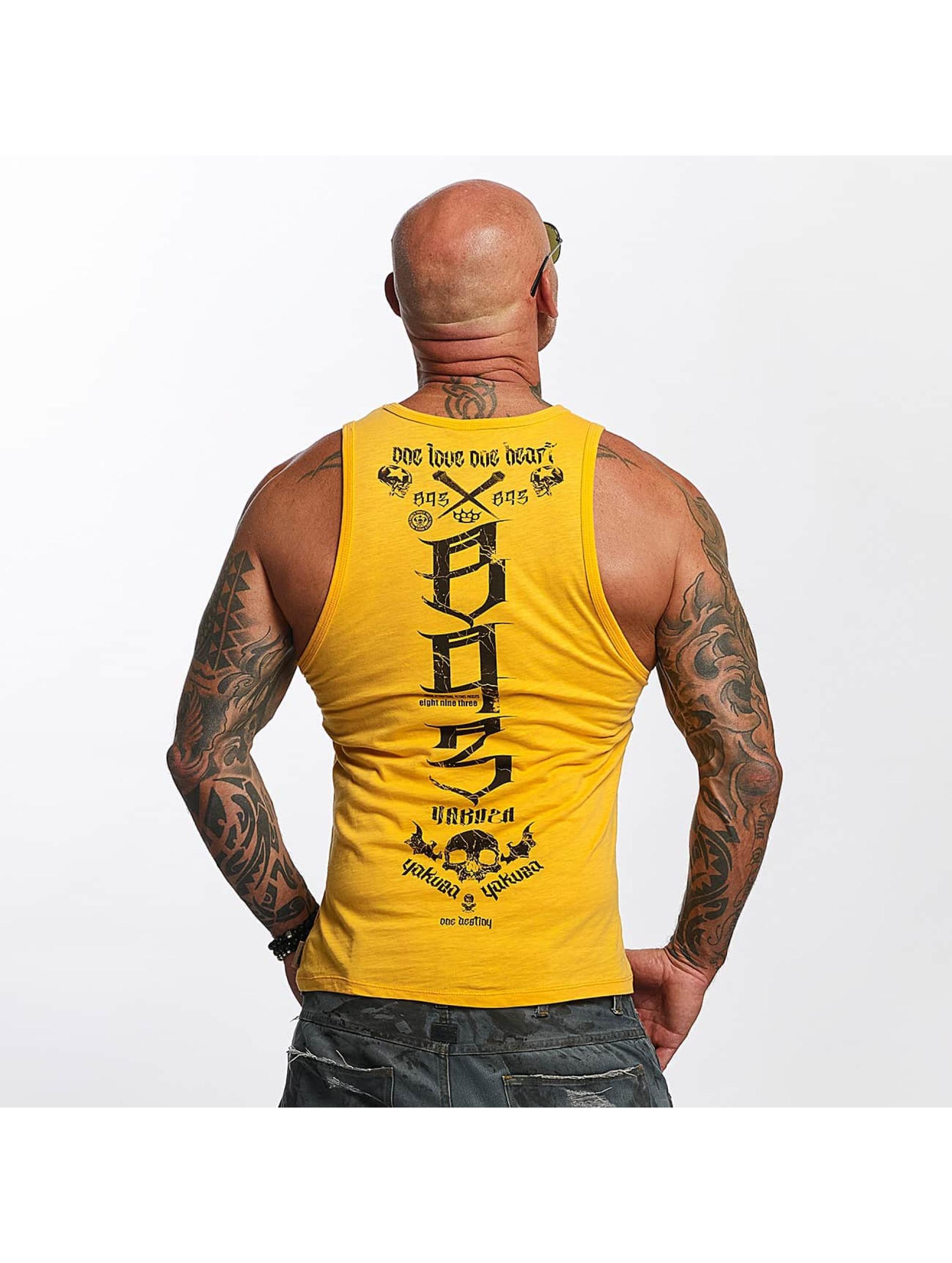 Yakuza Tank Tops One Love orange