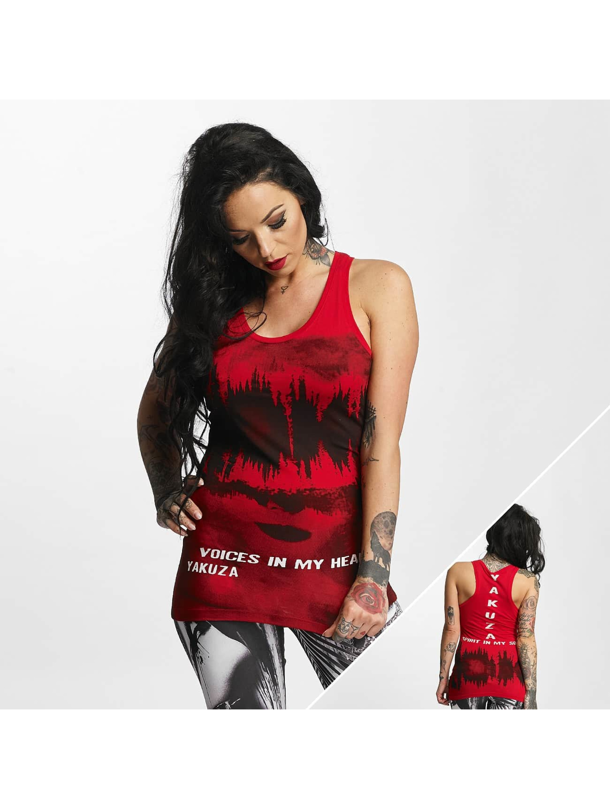 Yakuza Tank Tops Voices Long red