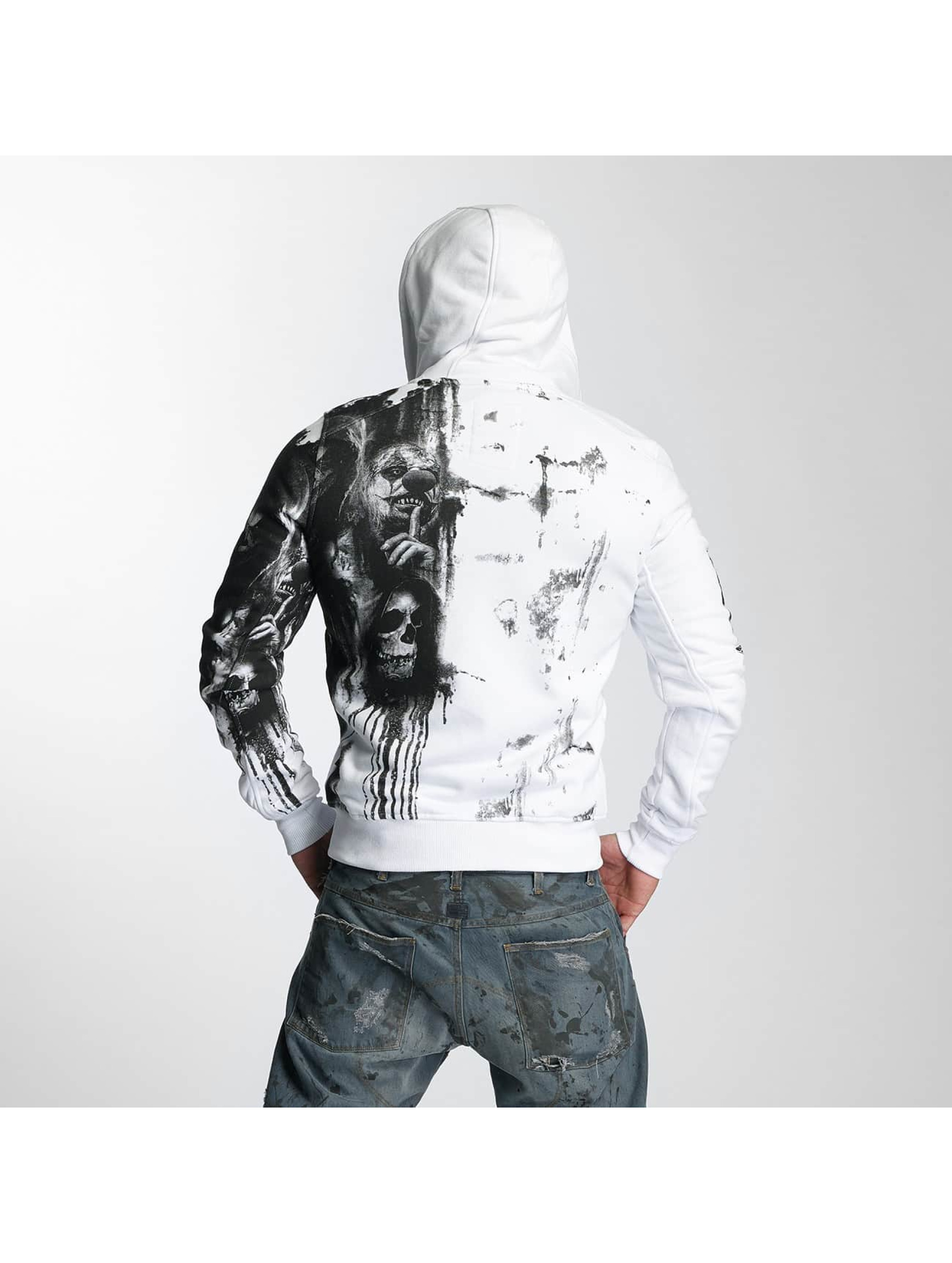 Yakuza Zip Hoodie Waiting Death white
