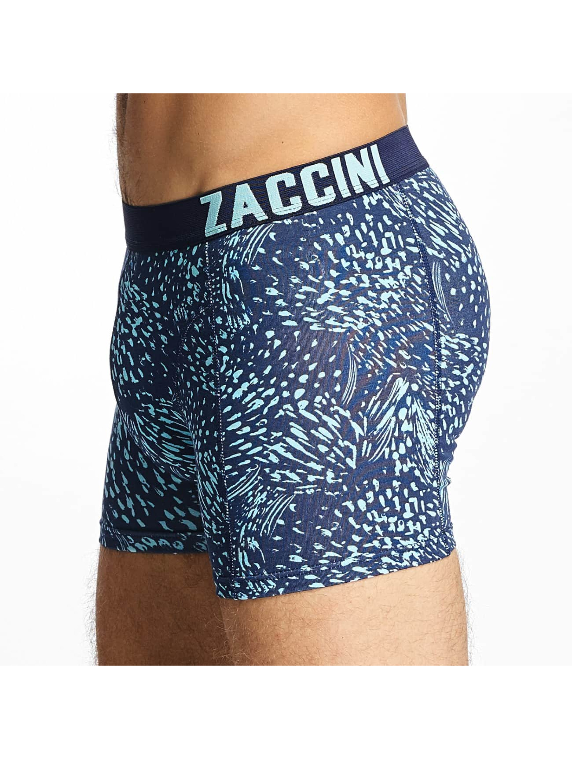 Zaccini Boxer Short Summer Spray 2-Pack blue