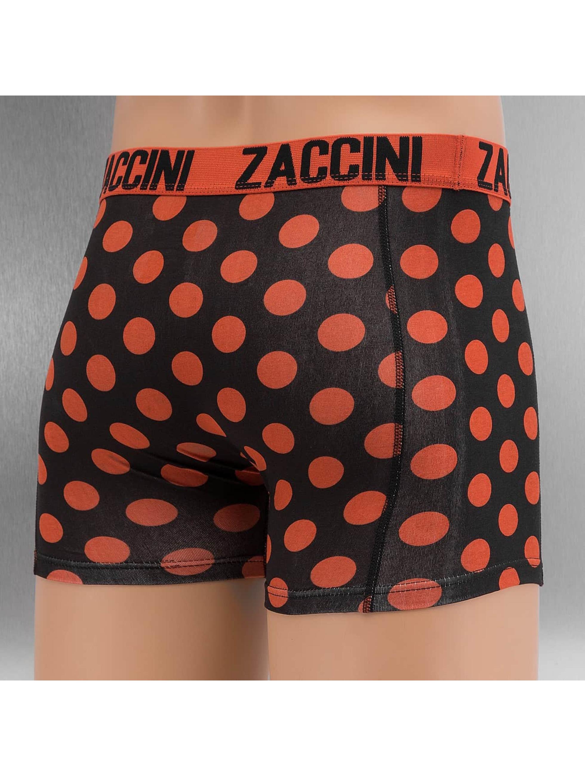 Zaccini Boxer Short Royal Dots orange
