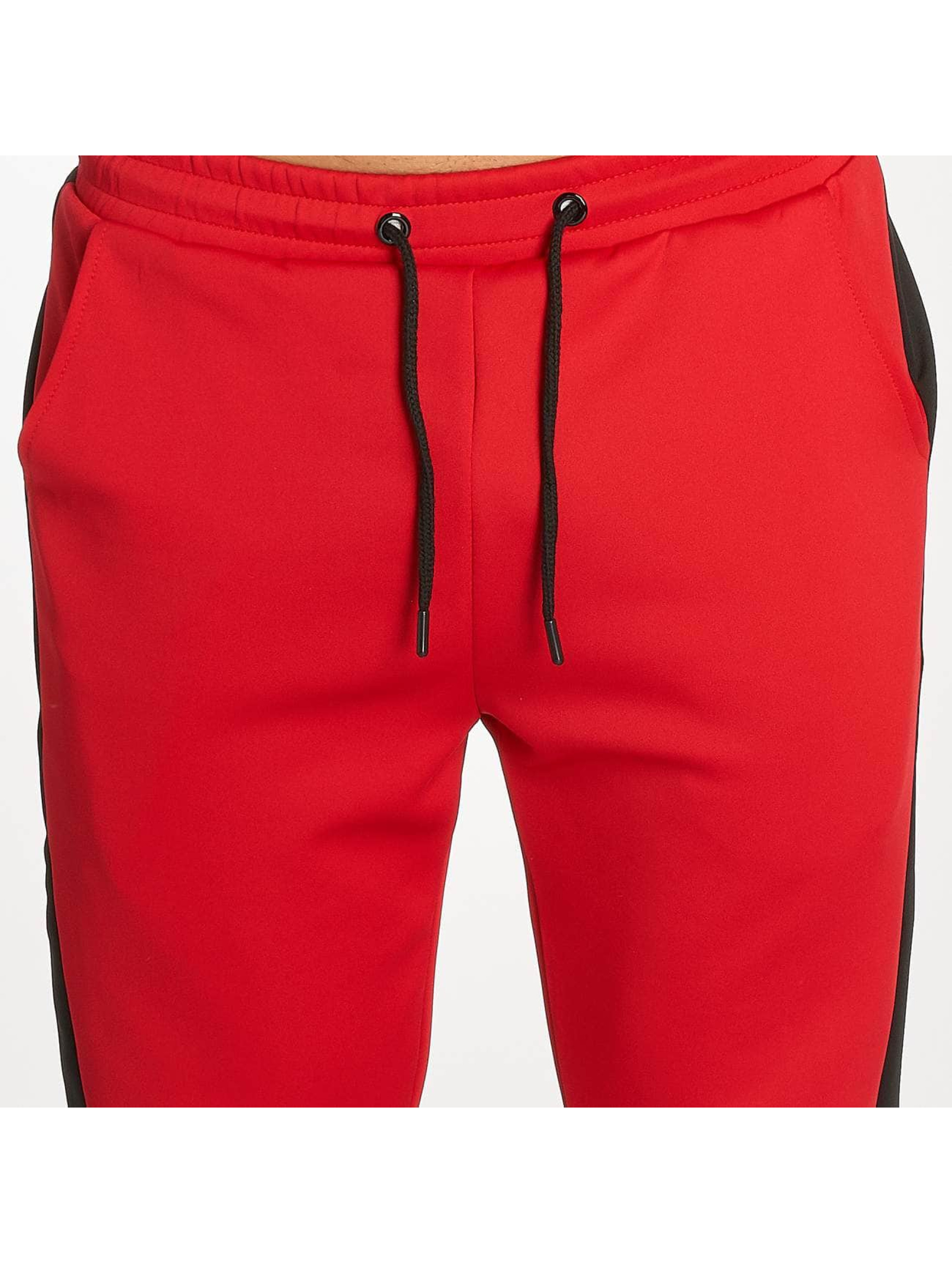 Zayne Paris Suits Two-Tone red