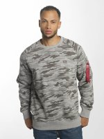 Alpha Industries Pullover X-Fit gray