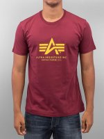 Alpha Industries T-Shirt Basic red