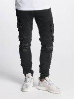 Bangastic Slim Fit Jeans Hjalmar black