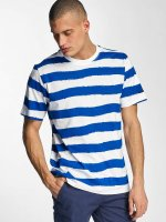 Bench T-Shirt Handpainted Stripe blue