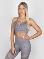 Beyond Limits Sports Bra Triangle gray