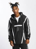CHABOS IIVII Lightweight Jacket Half Zip Hooded black