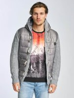 Cipo & Baxx Lightweight Jacket Bubble gray