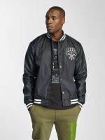 Dangerous DNGRS College Jacket Peace out black