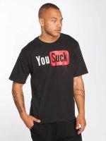 Dangerous DNGRS T-Shirt Suck black