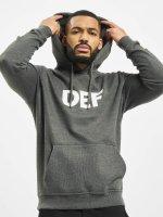 DEF Hoodie Til Death gray