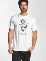 Electric T-Shirt CUT SNAKE white