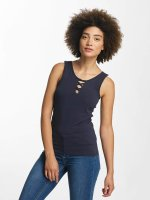 Hailys Top Ann Lace-Up blue