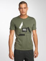 Jack & Jones T-Shirt jcoBoshof green
