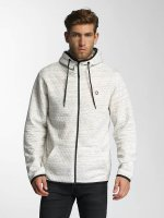 Jack & Jones Zip Hoodie jcoCarbon white
