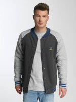 Just Rhyse College Jacket Clearlake gray
