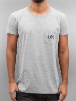 Lee T-Shirt Pocket gray