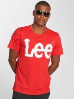 Lee T-Shirt Logo red