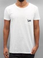 Lee T-Shirt Pocket white